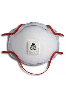 3M 8833 Mask P3V (Pack Size 10)