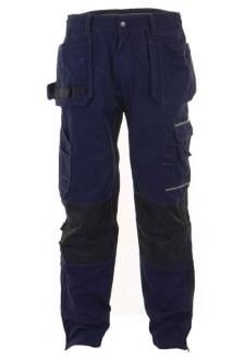 SMPTN Click Navy Shawbury Premium Multi Pocket Trouser