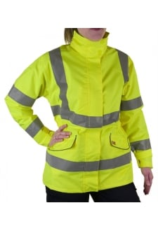 LBD30 Ladies Fit Breathable Executive Hi Vis Jacket