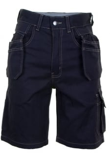 GMPSN Click Grantham Navy M/Pocket Shorts
