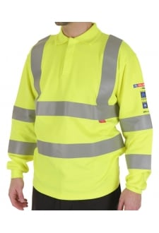 CARC2 ARC Compliant Polo Shirt - Yellow (Small to 6XL)