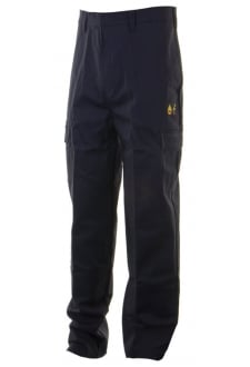 Flame Retardent Anti Static  Trousers - Navy (30to48)