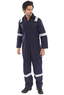 FREBSN Erskine FR/AS Boiler Suit - Navy (XSto6XL)