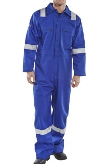 CFREBSR Erskine FR/AS Boiler Suit Royal (XSTO6XL)