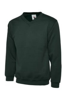 UC204 Premium V Neck Sweatshirt (Xsmall to 4Xlarge)