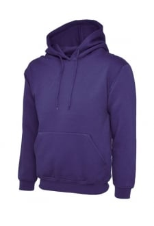 UC502 Classic Hooded SweatShirt 50/50 Polycotton (Xsmall to 4Xlarge)