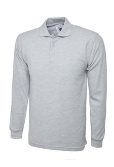 UC113 Longsleeved Polo Shirt (Xsmall To 4XL)