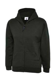 UC506 Childrens Classic Full Zip Hooded Sweatshirt