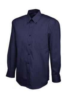 UC701 Mens Pinpoint Full Sleeved Oxford Shirt (Collar size 14.5 To 19.5)