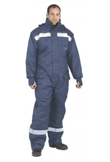 CS12 ColdStore Coverall - Navy - (SmallTo3XL)