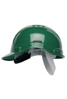 HC300VG Green Vented Elite Helmet (OneSize)