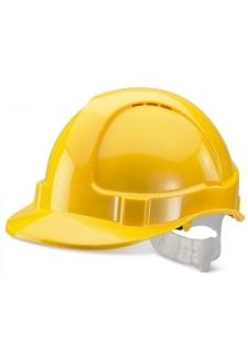 BBEVY Yellow B-Brand Economy Vented Safety Helmet (OneSize)