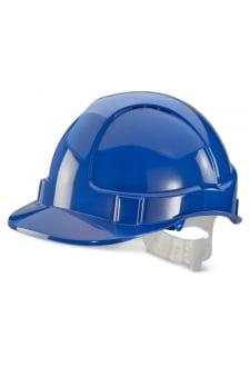 BBEVBL Blue B-Brand Economy Vented Safety Helmet (OneSize)