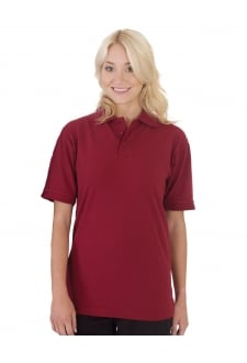 UCC004 50/50 Heavyweight Pique Polo (Xsmall To 5XL)
