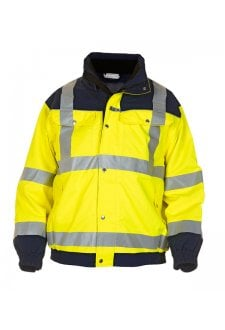 FURTH VI VIS PILOT JACKET YELLOW NAVY  (SMALL TO 3XLARGE)