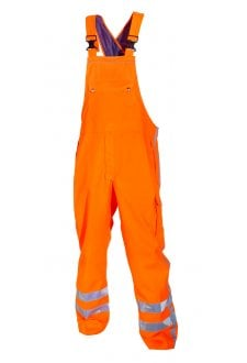 UTTING SNS HI VIS WATERPROOF BIB & BRACE (SMALL TO 2XLARGE)
