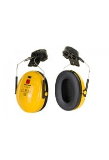 PELTOR OPTIME HELMET ATTACHED EAR DEFENDERS