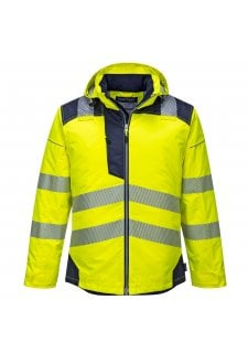 T400  HI VIS WINTER JACKET  (XS TO 4XL)