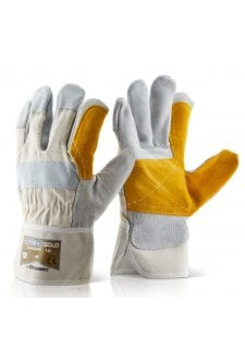 Double Palm Rigger Gloves Sizxe 10 (Pack of 10)