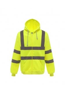 YK012 Yoko Hi Vis Full Zip Hoodie (Small to 3Xlarge)