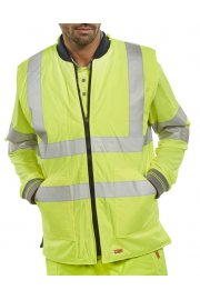 BWENG Hi-Vis  Reversible Bodywarmer (Small To 5XL)