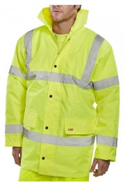 CTJENG Padded Rainproof Traffic Jacket (Small To 6XL)