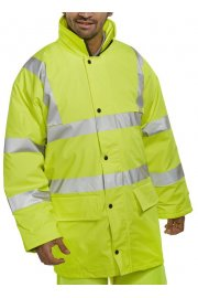PUJ Hi Visibility Breathable PU Coated Jacket