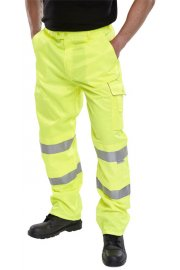 PCTEN High Way Trousers Polycotton (30 Reg To 48 Reg)