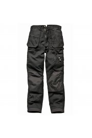 WD009 Eisenhower Heavy Duty Multi-pocket Trousers Black