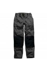 WD012 Grafted Duo Tone Trousers Black/Black