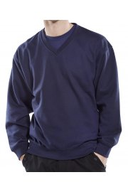 CLVPCS WorkWear V-Neck SweatShirt (Small to 3XL)