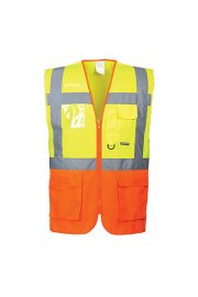 S376 Executive Hi Vis Vests (Prague) (Medium To 3XL)