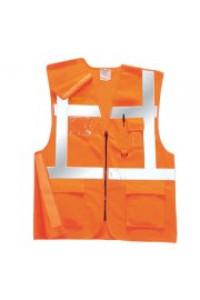 RT26 Rail Spec Executive Hi Vis Vests (Medium To 2XL)