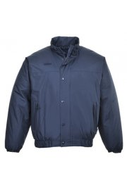 S533 Falkirk Padded Rainwear Bomber Jacket (Small to 4XLarge)