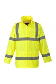 H440 Hi-Vis Rain Jacket (XSmall To 4XL)