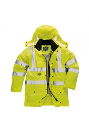 S427 Hi-Vis 7-In-1 Traffic Jacket (XSmall To 5XL)