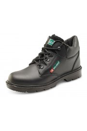 CF4BL Smooth Leather Mid-Cut Boots