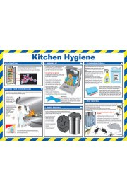 BSS13207 Safety Awareness Poster 'Kitchen Hygiene'