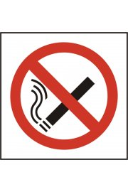 BSS11840 No Smoking Symbol Sign Vinyl Version
