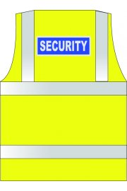 WCENGSE Security Hi Vis Vests (XSmall To 6XL)