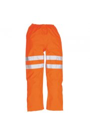 RT31 Hi-Vis Rail / traffic  Trousers GO/RT (Small To 3XL)