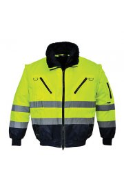PJ50 Hi-Vis 3-In-1 Pilot Jacket (Small To 5XL)
