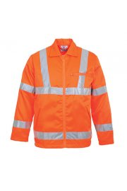 RT40 Hi-Vis Poly-Cotton Jacket GO/RT (Small To 3XL)