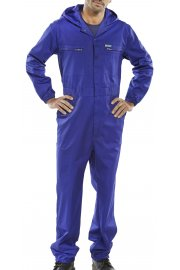 PCBSHCAR Super Click hooded Boilersuit (36 to 54 Chest)