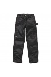 WD400 Industry 300 Two-Tone Work Trousers Black
