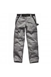 WD400 Industry Two-Tone Work Trousers Grey/Black