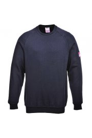 FR12 Flame-Resistant Anti-Static Long Sleeved SweatShirt