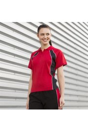 LV351 Womens Jersey Team Polo