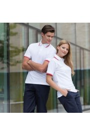 HB450 Tipped Collar Polo Shirt (XSmall to 2XL)