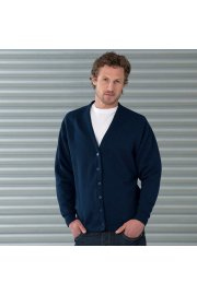 J273M Fleece Cardigan